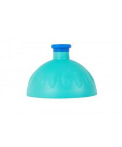 Zdravá lahev Víčko zelené tyrkys-zátka tmavě modrá