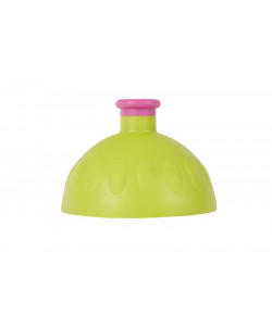 Zdravá lahev® Víčko světle zelené - zátka fialová