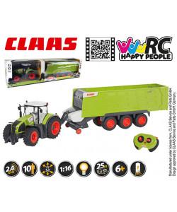 Happy People RC Traktor Claas Axion + Claas Cargos