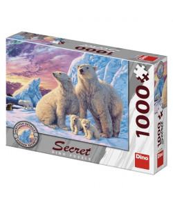 Dino Puzzle Lední medvědi 1000 secret collection