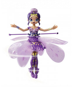 Hatchimals létající panenka Pixie fialová