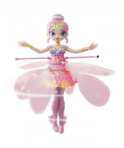 Hatchimals létající panenka Pixie růžová