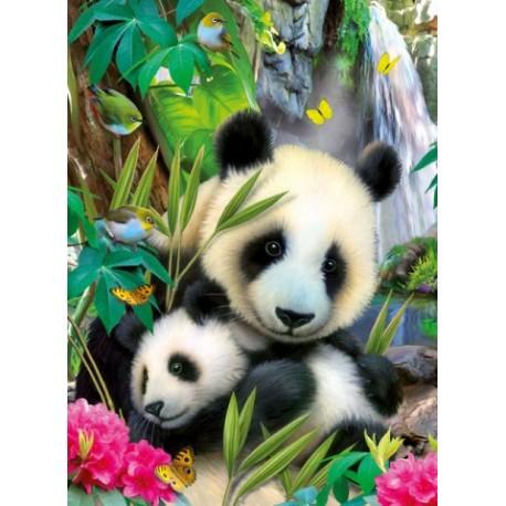 Puzzle RAVENSBURGER-Panda 300d.