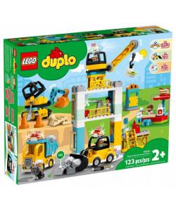 LEGO® DUPLO® 10933 Stavba s věžovým jeřábem