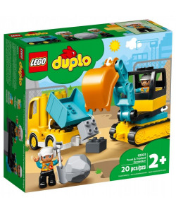 LEGO® DUPLO® 10931 Náklaďák a pásový bagr