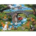 Ravensburger Puzzle WD Zvířátka 100 XXL dílků
