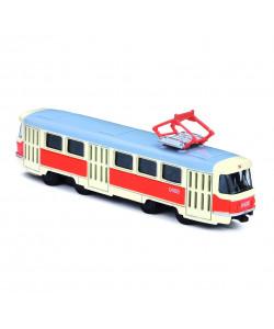 Rappa Kovová česká retro tramvaj 16 cm