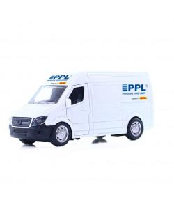 Rappa Kovové auto PPL s otevíracími dveřmi 14 cm