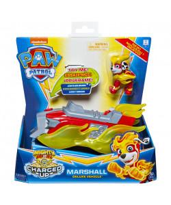 PAW PATROL Svítící Vozidla Hrdinů se zvuky Marshal
