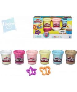 Play-Doh sada s konfetami a 2 vykrajovátka