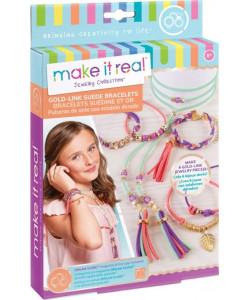 Make it Real Náramky a náhrdelník, zlatá edice