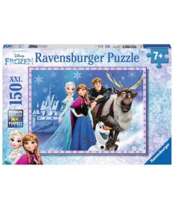 Puzzle Ledové království Přátelé u paláce 150 XXL