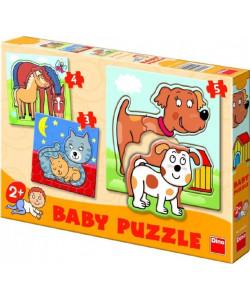 Dino Baby puzzle Zvířátka