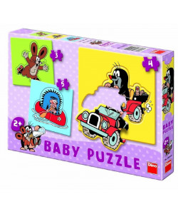 DINO Baby puzzle Krtek 12 ks