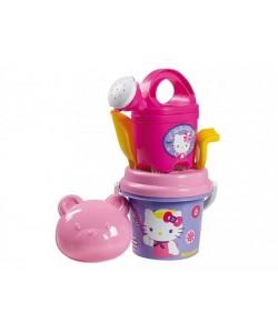 Sada na písek Hello Kitty s konvičkou - fialová