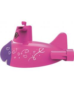 MAC TOYS Ponorka do vody - růžová