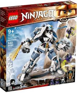 LEGO Ninjago 71738 Zane a bitva s titánskými robot