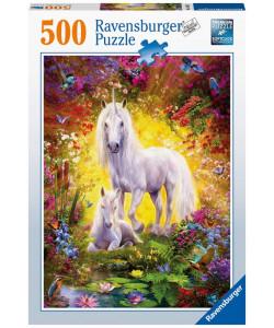 Ravensburger Puzzle Jednorožec s mládětem 500 d.