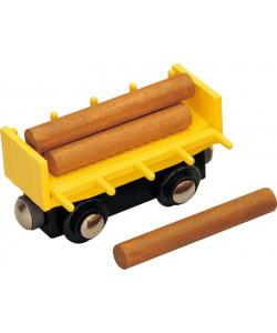 Maxim Vagón se dřevem
