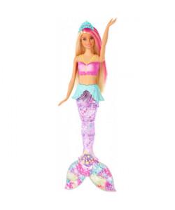 Barbie Svítící mořská panna s pohyb.ocasem-SLEVA