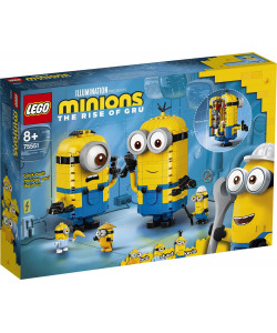 LEGO® Minions 75551 Mimoni a jejich doupě