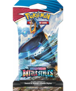 Pokémon TCG:SWSH05 Battle Styles-1 Blister Booster