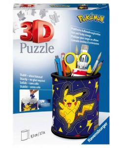 Puzzle 3D Stojan na tužky Pokémon 54 dílků