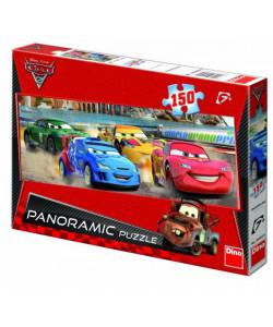 Dino Puzzle Cars panoramic 150dílků
