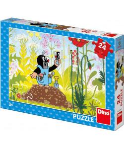 DINO Puzzle Krtek v kalhotkách 24 dílků