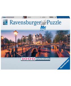 Ravensburger Puzzle Amsterdam 1000 dílků Panorama