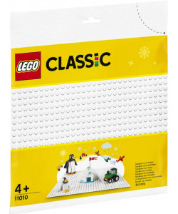 LEGO® Classic 11010 Bílá podložka na stavění
