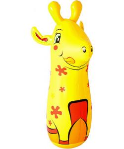 BESTWAY Boxovací nafukovací pytel 89cm - Žirafa