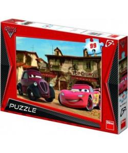 DINO Puzzle Auta: Vesnička 99 dílků