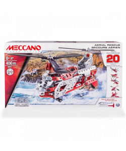 Spin Master Meccano helikoptéra - 20 variant