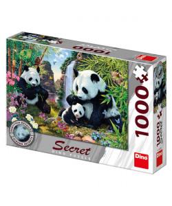 Dino Puzzle Pandy 1000D Secret collection