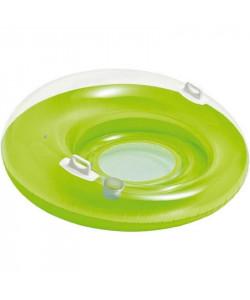 INTEX Nafukovací kruh Křeslo+ 2 držadla- Zelená
