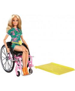 MATTEL Barbie Modelka na invalidním vozíku