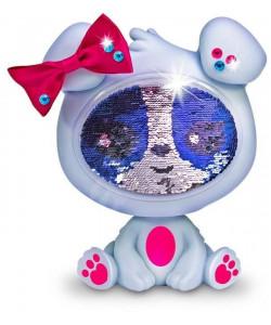Zequins Flitrová panenka - šedá