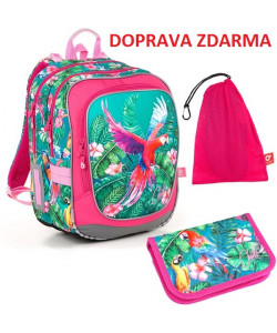 Školní batoh Topgal ENDY 18001 G SET MEDIUM