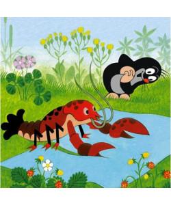 Dino Puzzle Krtek a kalhotky, 48 dílků