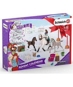 Schleich Adventní kalendář Schleich 2021 - Koně