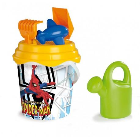 Smoby Kyblíček Spiderman s konvičkou a přísl., velký