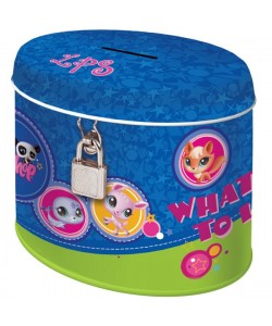 Pokladnička oválná Littlest Pet Shop