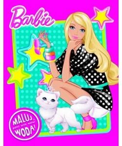 Omalovánky vodové A4 Barbie