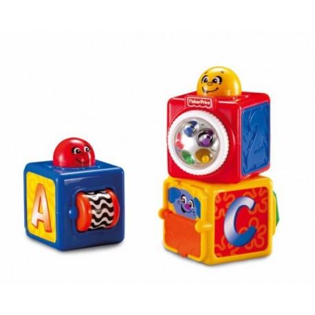 Mattel Aktivní stavěcí kostky Fisher Price