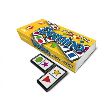 Hra domino Barvy - tvary