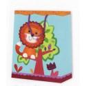 Dárková taška lvíček 18 x 10 x 23 cm