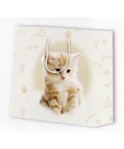 Dárková taška kočky 24 x 12 x 26 cm