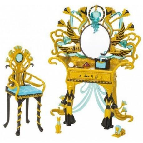 Monster High - Toaletní stolek pro Cleo de Nile