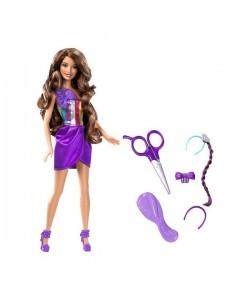 Barbie senza sestřih fialová